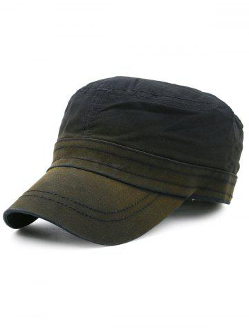Cheap Line Embroidery Embellished Military Hat