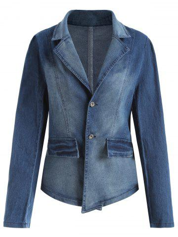 New Lapel Plus Size Denim Jacket