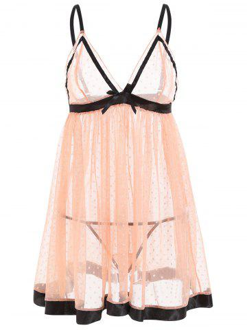 Hot See Through Mesh Cami Babydoll
