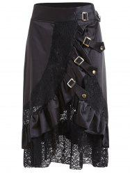 Lace Flounce Plus Size Cosplay Skirt -