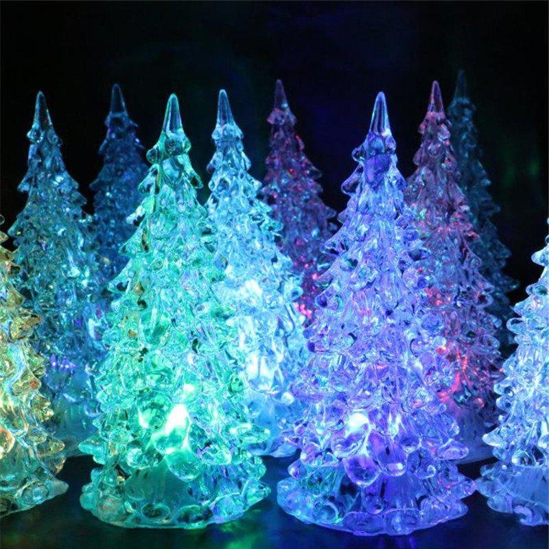 trendy color change led lights mini christmas tree