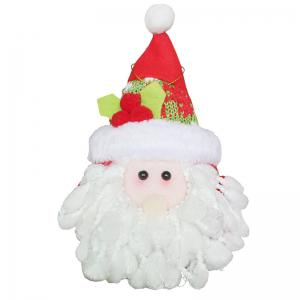 Santa Claus Patterned Christmas Hanging Doll -