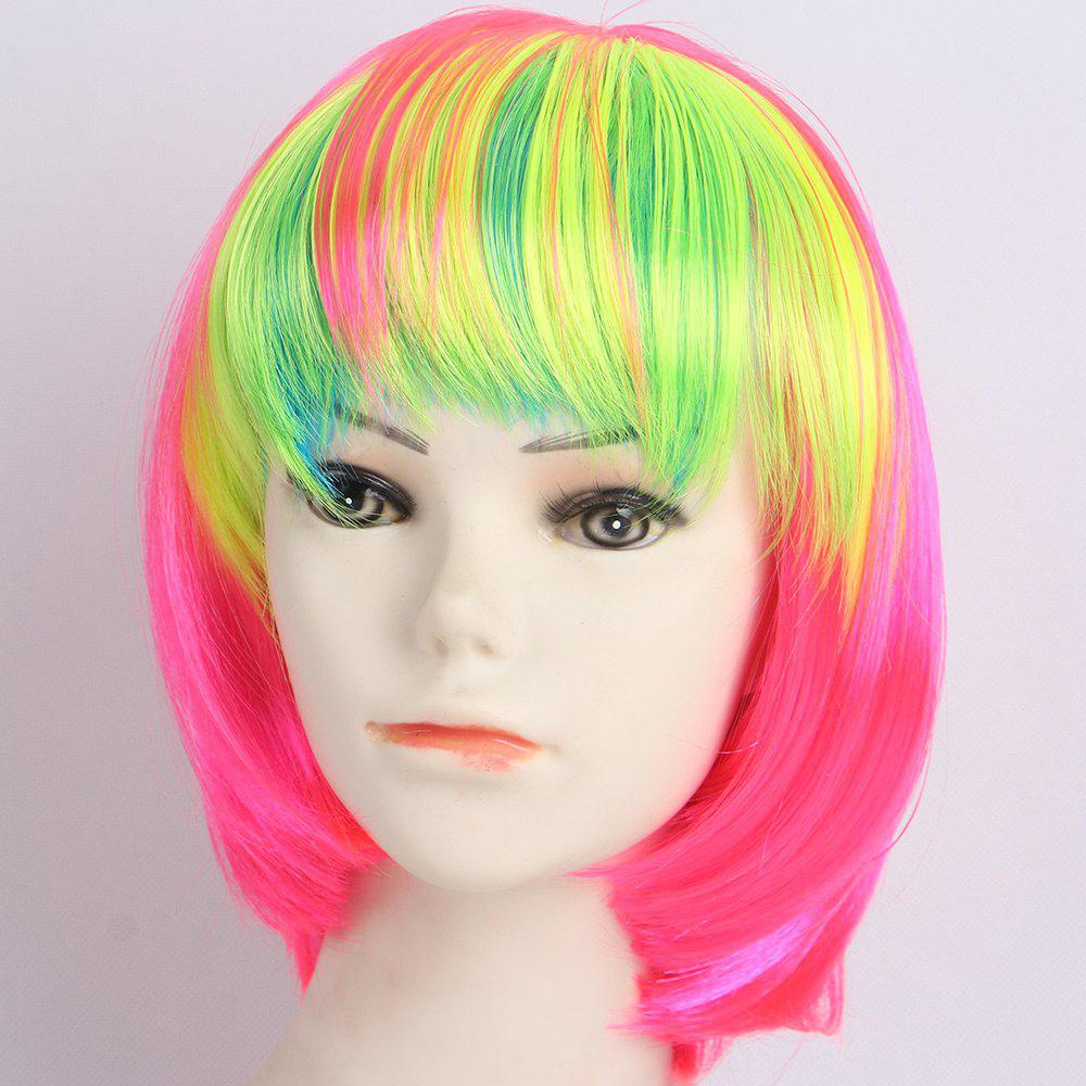 Outfit Short Full Bang Straight Bob Synthetic Lolita Wig