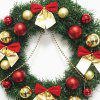 Bowknot Balls Christmas Wreath -