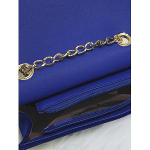 Metal Buckle Strap Stars Crossbody Bag -