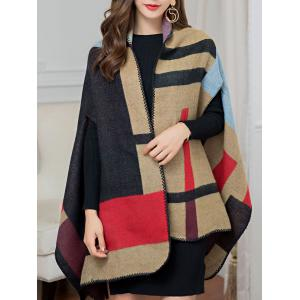 Vintage Outdoor Artificial Wool Shawl Pashmina -
