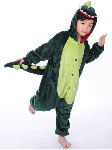 Shop Cartoon Onesies Kids Dinosaur Animal Pajamas