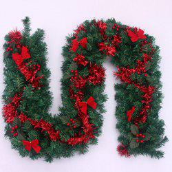 Home Decoration Bowknot 270CM Plastic Christmas Rattan -