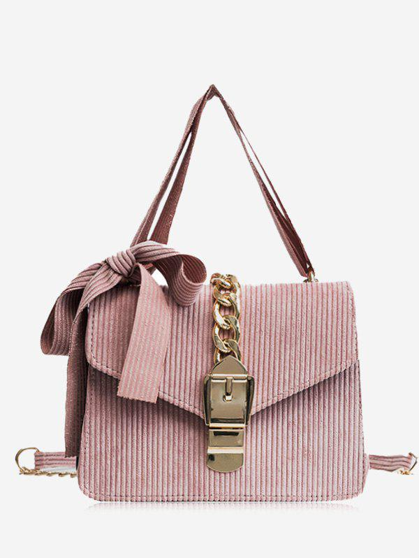 New Chain Buckle Strap Bow Crossbody Bag