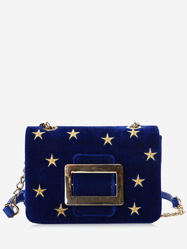 Outfits Metal Buckle Strap Stars Crossbody Bag
