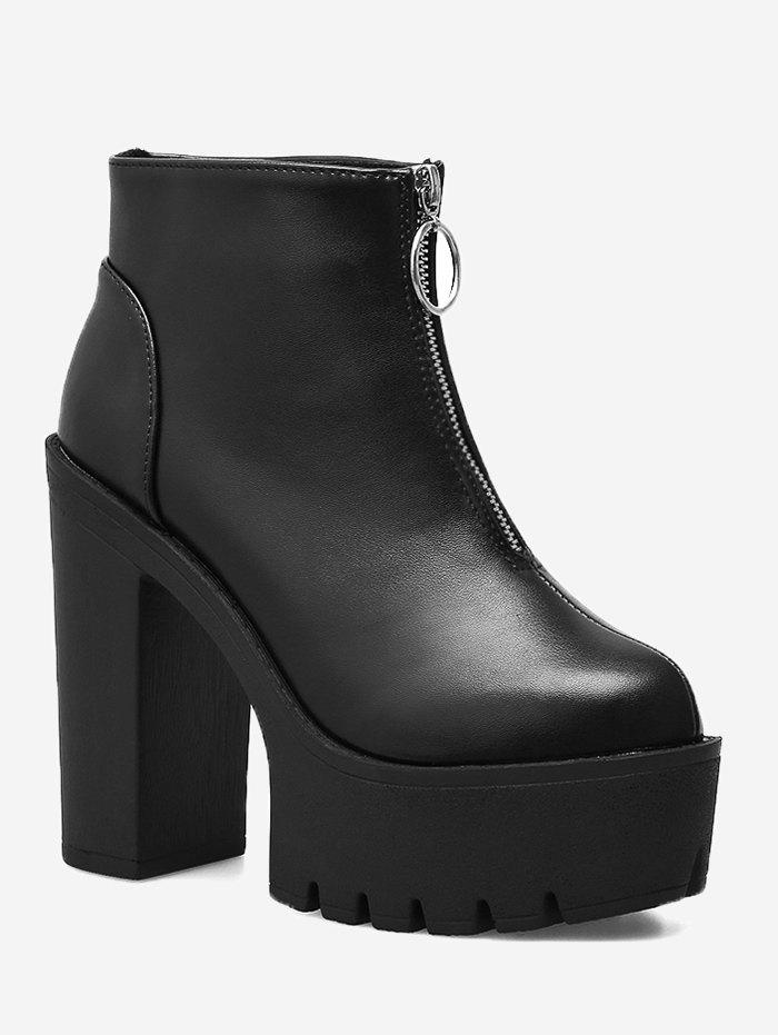 Best Platform Chunky Heel Ankle Boots