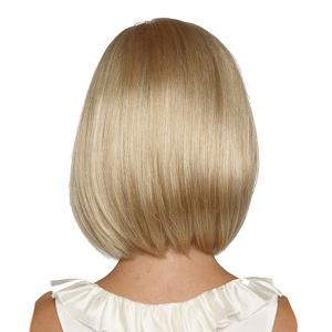 Medium Full Bang Straight Bob Synthetic Wig -
