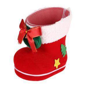 3 PCS Different Size Christmas Shoes Gift Boxes -