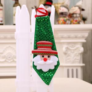 Christmas Hanging Decorations LED Lights Neck Tie -