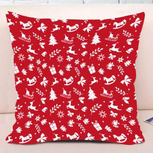 Taie d'oreiller décorative de Noël Elements Print Print Throw -
