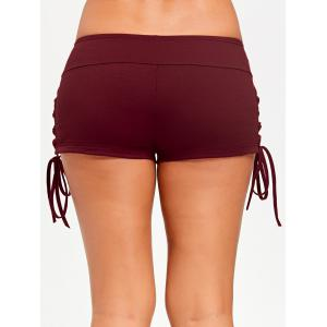 Lace Up Côtés Shorts -