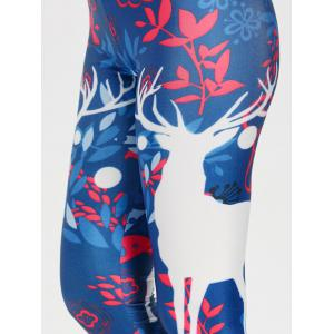 Christmas Elk Skinny Leggings -
