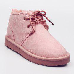 Faux Fur Lining Warm Ankle Snow Boots -