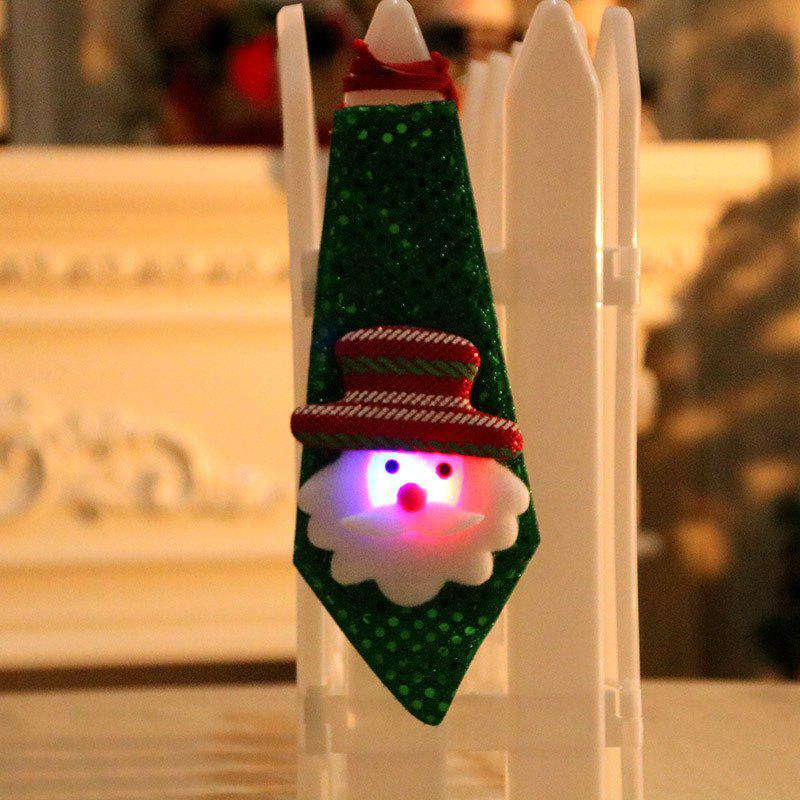 Cheap Christmas Hanging Decorations LED Lights Neck Tie