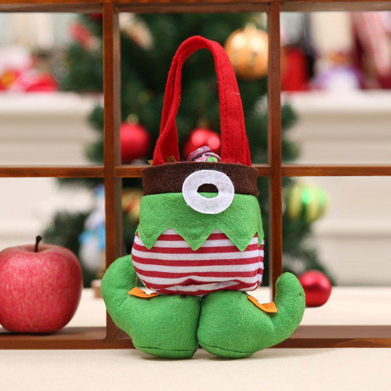 Online Christmas Elf Candy Tote Gift Bag