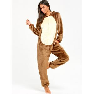 Funny Chipmunk Animal Onesie Pajama for Women -