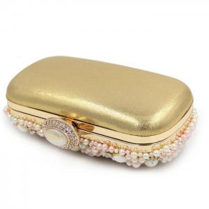 Rhinestone Faux Pearl Evening Bag -