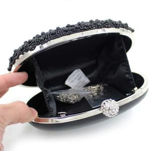 Chain Rhinestone Beading Evening Bag -