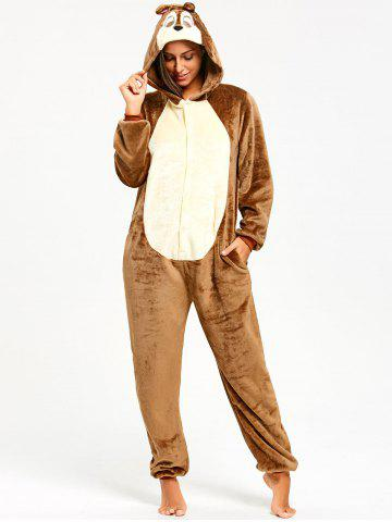 New Funny Chipmunk Animal Onesie Pajama for Women
