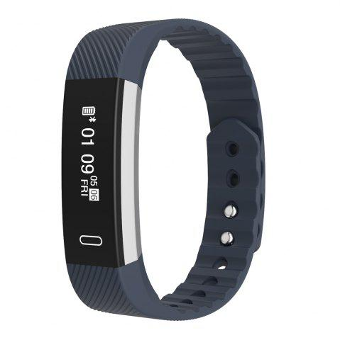Chic Micro-K Pedometer Sedentary Reminder Sleep Monitor Heart Rate Monitor Bluetooth Smartwatch