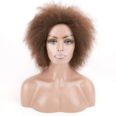 Shop Short Shaggy Afro Curly Synthetic Wig