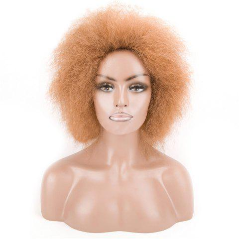 Outfits Short Shaggy Afro Curly Heat Resistant Synthetic Wig