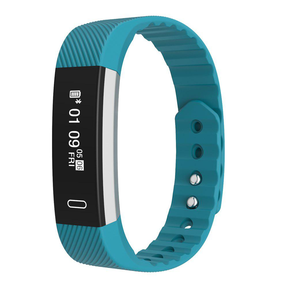Fashion Micro-K Pedometer Sedentary Reminder Sleep Monitor Heart Rate Monitor Bluetooth Smartwatch