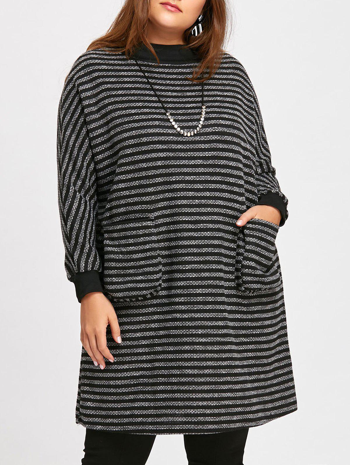 Plus Size Dolman Sleeve Dress