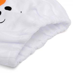 1 Pcs Christmas Snowman Toilet Lid Cover -