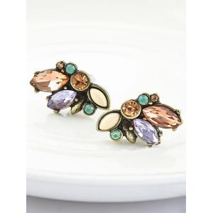 Artificial Crystal Tiny Stud Earrings -