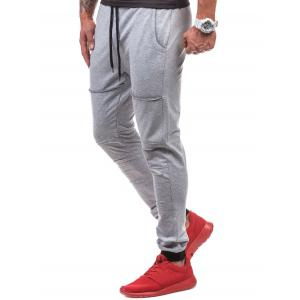 Pantalon de jogging à cordon coulissant -