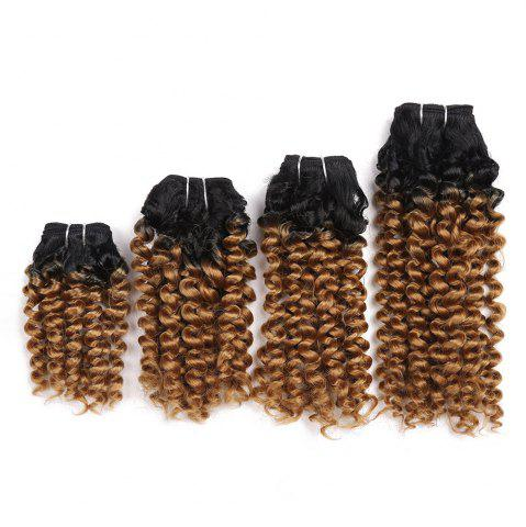 Best Short Toni Curly 4 Pieces Synthetic Hair Weaves