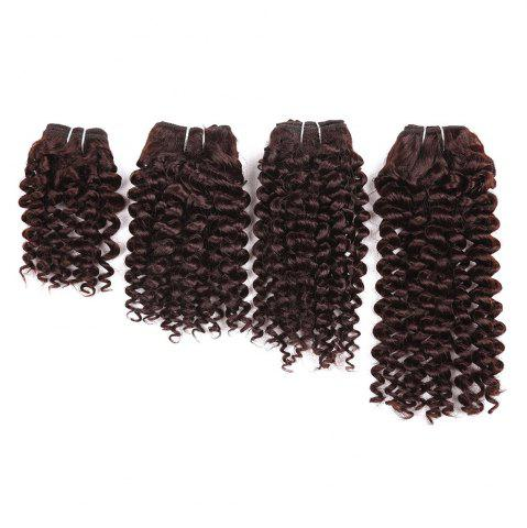 Chic Short Toni Curly 4 Pieces Synthetic Hair Weaves
