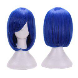 Short Side Bang Straight Bob Cosplay Synthetic Wig -