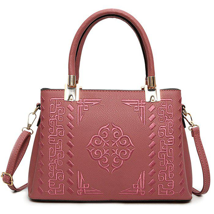 New PU Leather Embossed Handbag