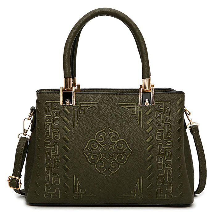 Best PU Leather Embossed Handbag