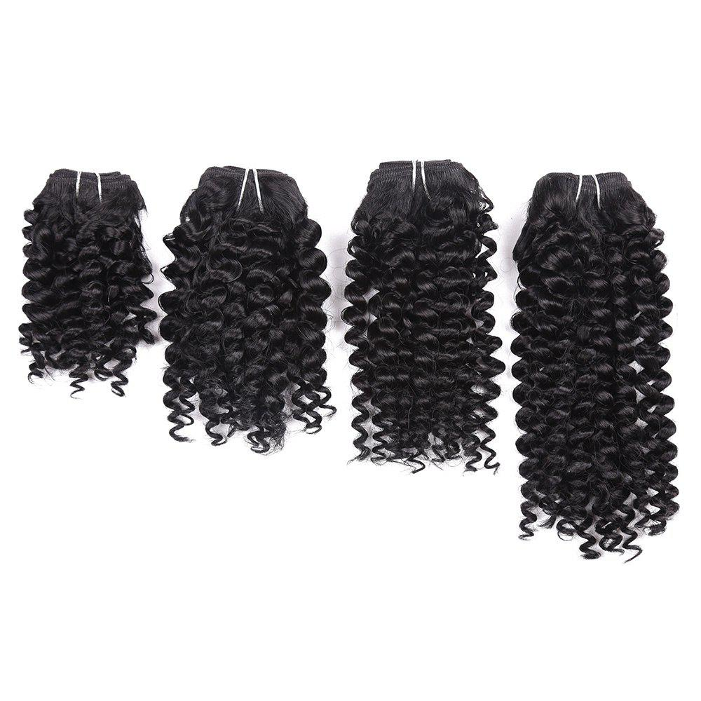Store Short Toni Curly 4 Pieces Synthetic Hair Weaves