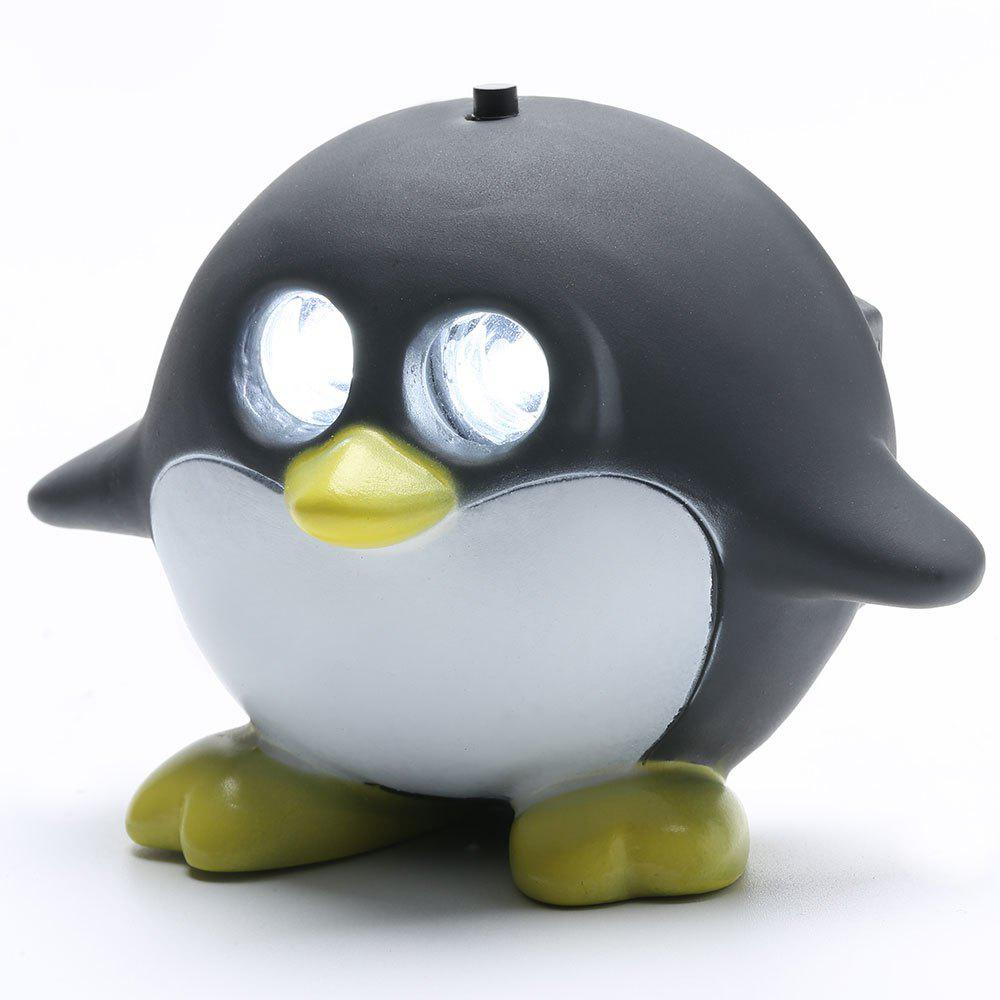 Cyclisme Cartoon Penguin Shape Headlamp