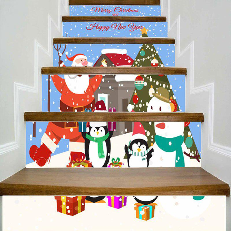 100 Awesome Christmas Stairs Decoration Ideas: [69% OFF] Merry Christmas Graphic DIY Home Decor Stair