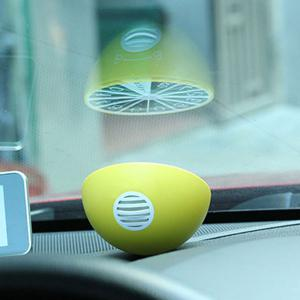 Lemon Aromatherapy Car Temporary Parking Phone Numbers Plate Card -