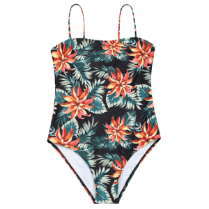 High Cut Cami Tropical Swimwear -