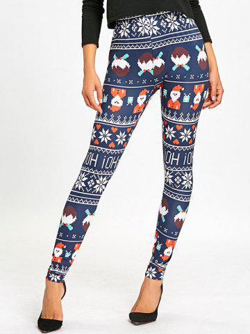 Trendy Christmas High Waist Leggings
