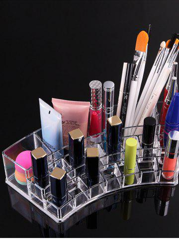 Outfit Acrylic Cosmetics Transparent Storage Box Case