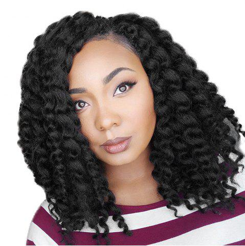 Store Short Side Bang Jumbo Braids Synthetic Wig