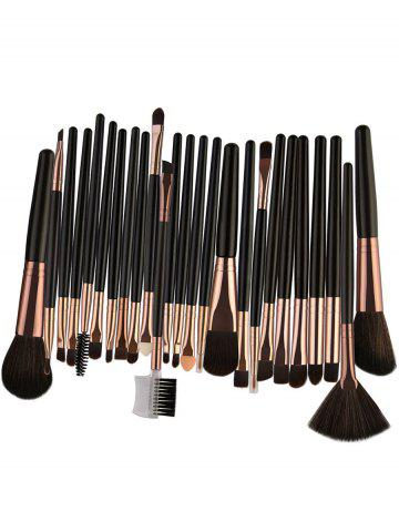 Latest 25Pcs Multifunctional High Quality Fiber Makeup Brushes Set